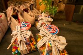 Dylan's Candy Bar wedding favors for bridal shower