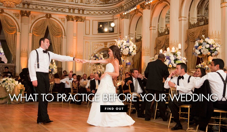 Rehearse these things to make sure nothing goes wrong on the big day!