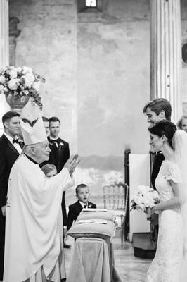 catholic wedding ceremony performed by cardinal