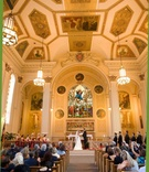 Wedding ceremony at Assumption Catholic Church, Chicago