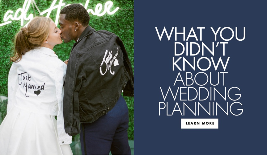 what you didn't know about wedding planning