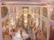 Painting of historic wedding reception venue
