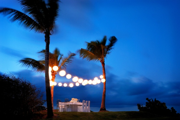 Sunset dinner at W Retreat & Spa, Vieques Island.