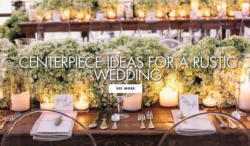 Centerpiece ideas for a rustic wedding reception ideas rustic centerpiece