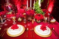 Beauty and the Beast inspired place setting and table decor