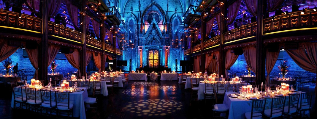 Panoramic Wedding Reception At Angel Orensanz Foundation