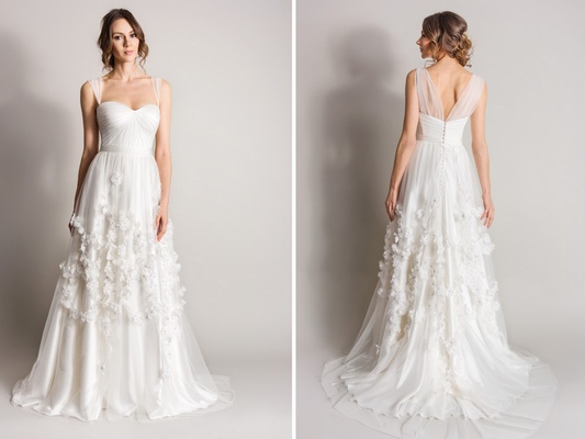 Wedding dresses suzanne nevilles songbird collection inside weddings bloom suzanne neville 2016 songbird collection wedding dress junglespirit Choice Image