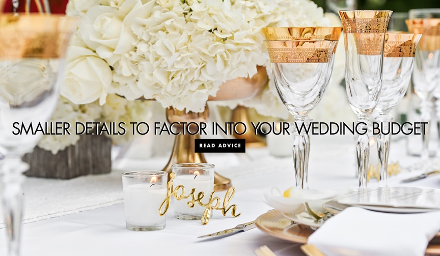 hidden wedding costs, unexpected wedding budget-busters