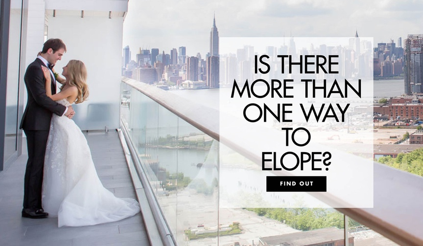 different ways to elope, how to elope, what type of eloping is right for you?
