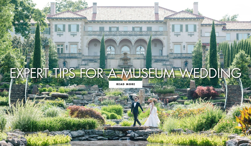 Expert tips for a museum wedding from DFW Events