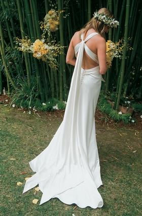 Amy Michelson wedding dress