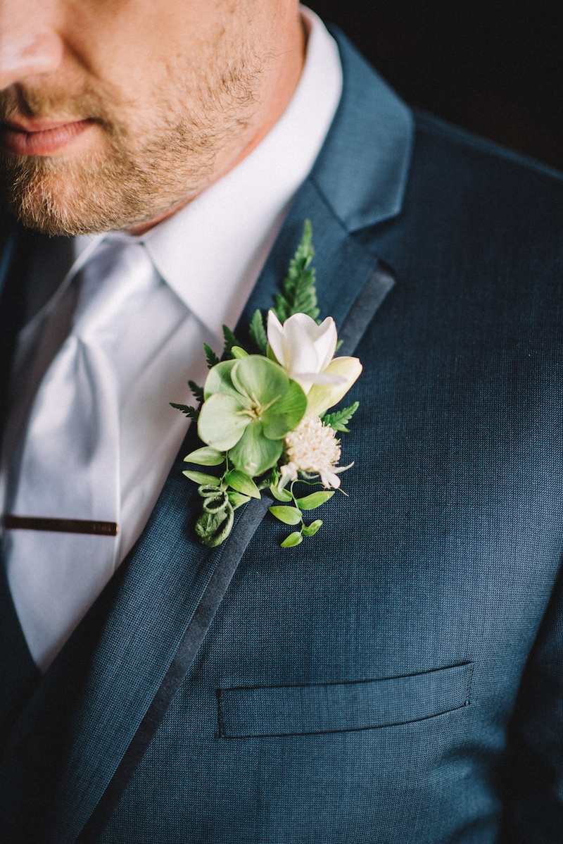 Boutonnieres photos rustic wedding boutonniere blue suit navy blue groom suit with green and white boutonniere junglespirit Images