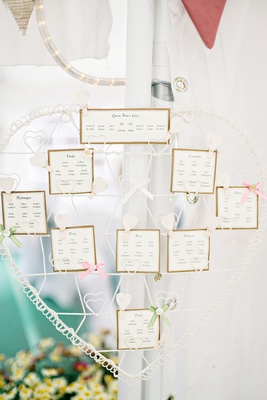 Intricate charming diy english garden wedding in peterborough uk diy do it yourself wedding table seat assignments escort cards bows map british english garden solutioingenieria Image collections