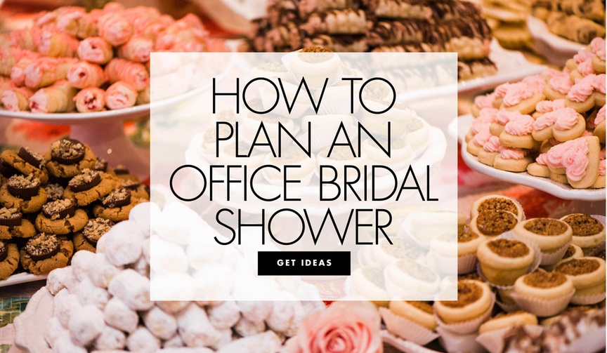 how to plan an office bridal shower ideas for throwing coworker a wedding shower