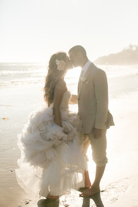 Katrina Hodgson Tone It Up wedding on beach