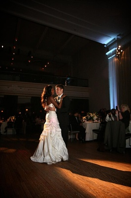Enuka Okuma and Joe Gasparik first dance