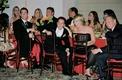 Bridesmaids and groomsmen at head table