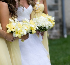Pale Yellow Bouquets