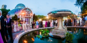 Dome-shaped venue at Brooklyn Botanic Gardens