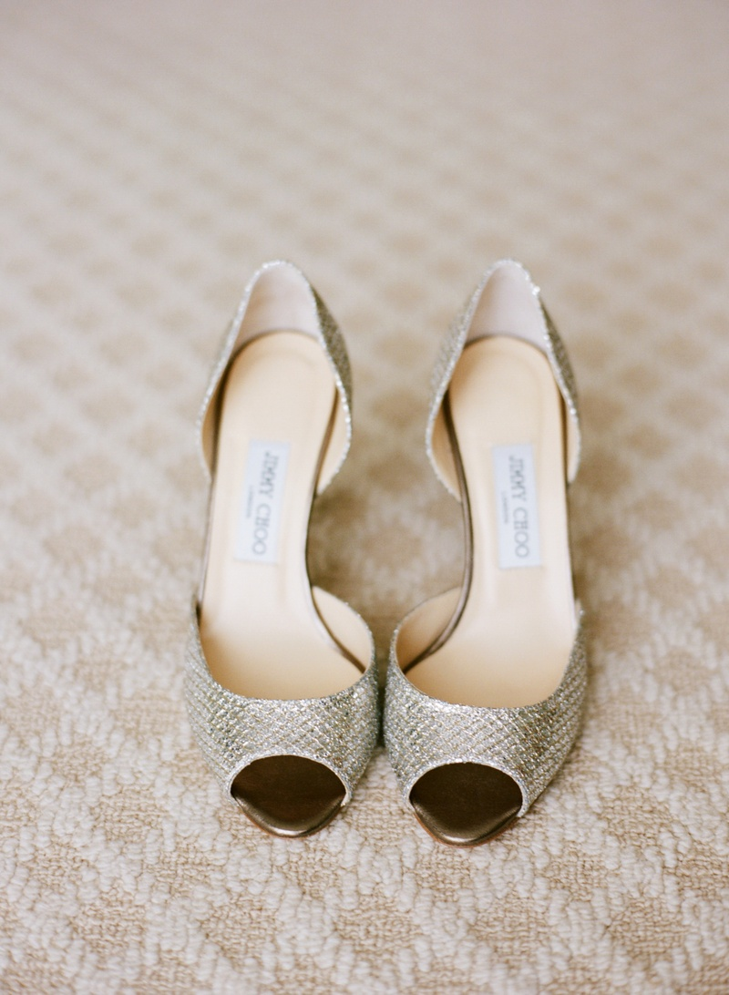 5d18426b771 Silver Wedding Pumps. 0 Favorites  0 Repins. Snakeskin glittering metallic  Jimmy Choo shoes