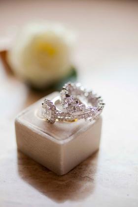 Women's diamond wedding ring and engagement ring multiple stones geometric the mrs box grey
