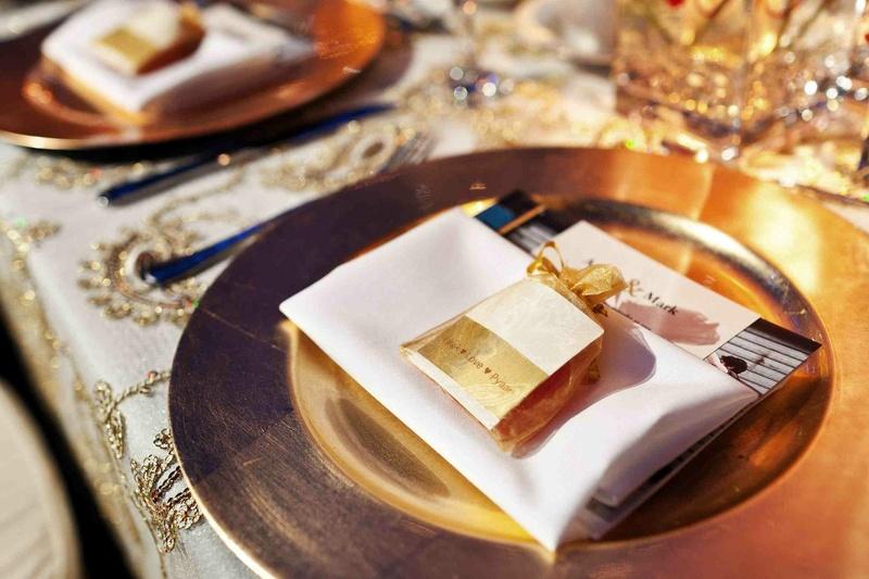 Favors Gifts Photos Golden Wedding Favor Inside Weddings
