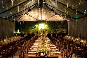 Alexis Cozombolidis and Hunter Pence wedding in San Francisco Hogwarts great hall inspiration long