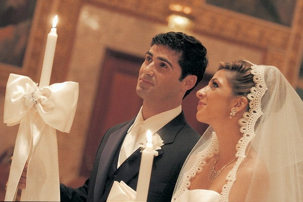 Fall Greek Orthodox Wedding Ceremony in Los Angeles