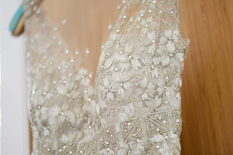 Wedding Dresses Photos - Close-Up Shot of Dress Bodice Details ...