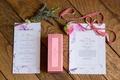 garden wedding in france paper goods french words la duree macarons velvet ribbon flower design