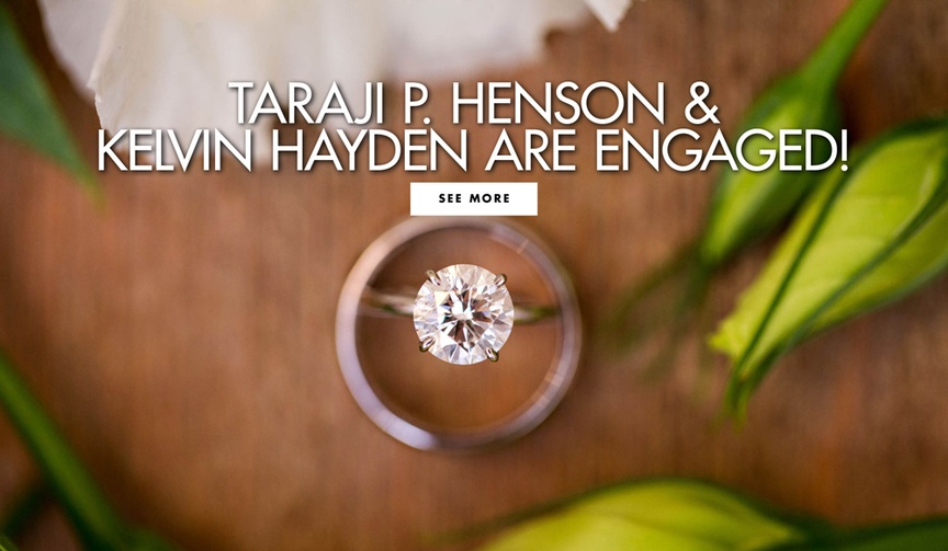 Taraji P Henson and Kelvin Hayden are engaged see the ring