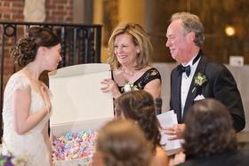 bride's parents origami cranes japanese tradition wedding reception symbol long marriage love