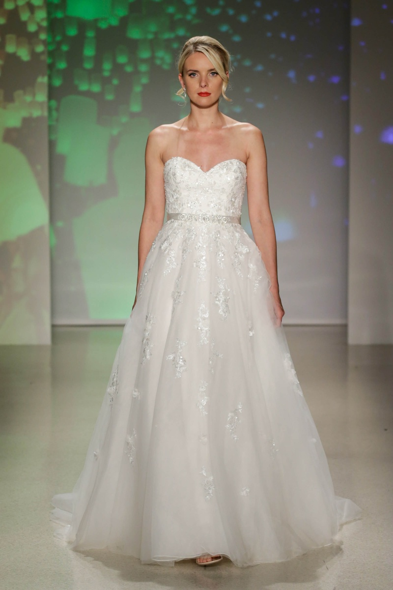 Wedding dresses photos rapunzel by alfred angelo 2017 inside alfred angelo 2017 disney fairy tale weddings bridal rapunzel strapless wedding dress a line lace ombrellifo Gallery