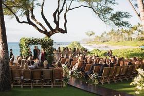 destination wedding in maui, maui wedding overlooking the ocean