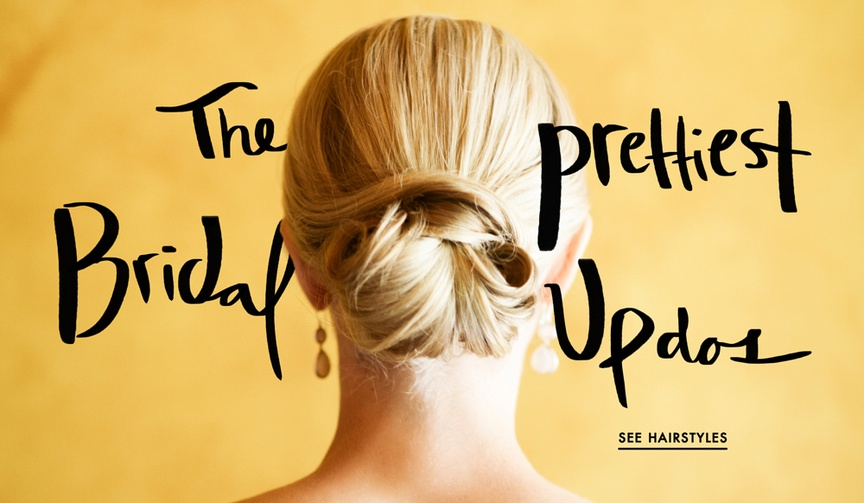 Wedding hairstyles and updos for brides