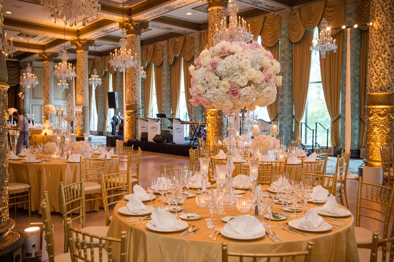 Reception D 233 Cor Photos Golden Ballroom With Romantic