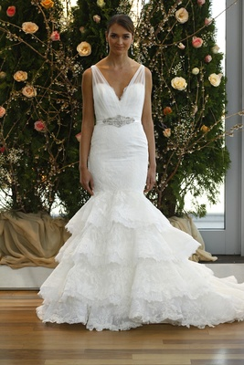 Wedding Dresses: 20 Non-Strapless Gowns - Inside Weddings