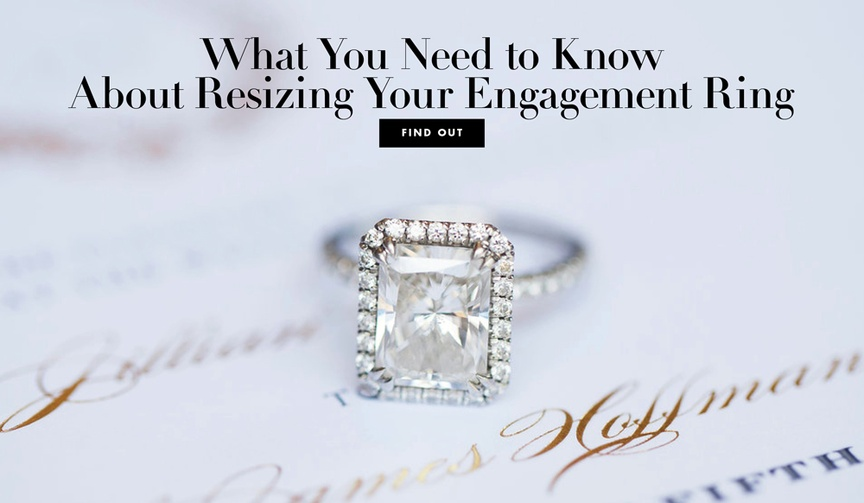 resizing an engagement ring, can you resize an eternity band, can you resize tungsten, sizing beads