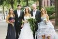 Oscar de la Renta mother-of-the-bride gown