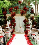 Outdoor wedding at Ritz-Carlton Marina del Rey