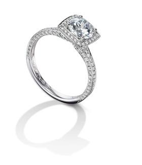 Furrer Jacot 53-66671-5-W platinum engagement ring