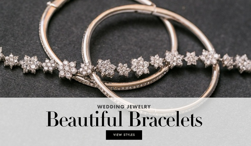 Wedding jewelry beautiful bracelets for your walk down the aisle