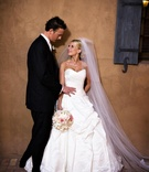Scottsdale, Arizona wedding couple at Tuscan country club