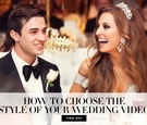 what wedding video style is best, cinematic or documentary, wedding videography