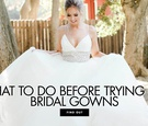 What to do before trying on wedding dresses things to do before shopping
