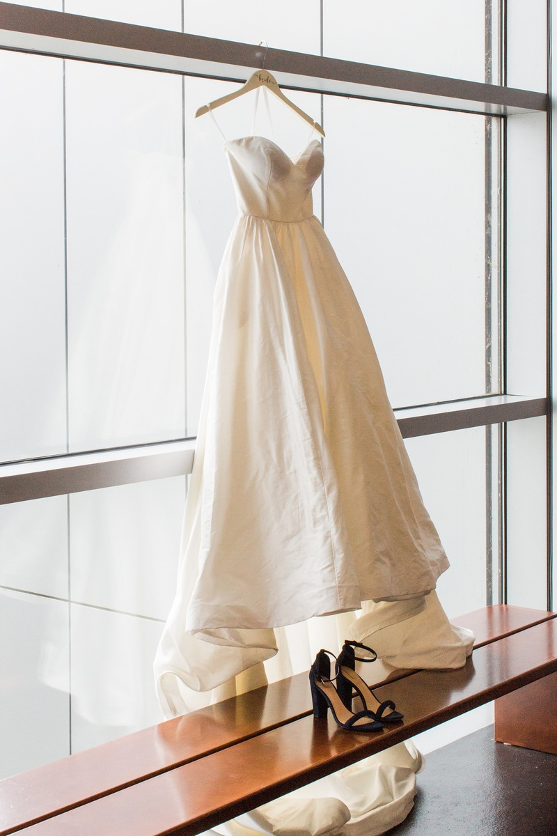 justin alexander plain ball gown with sweetheart neckline