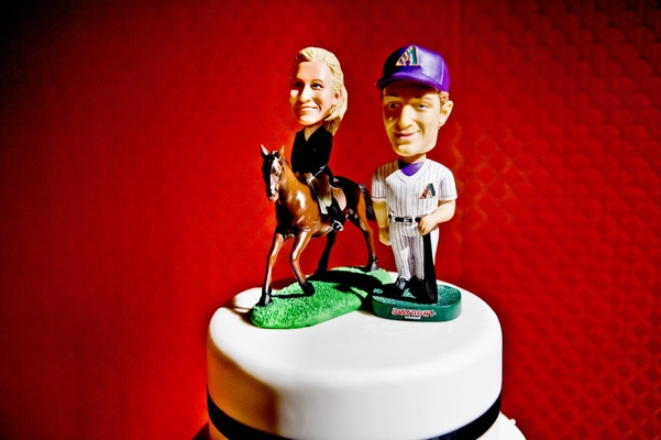 Arizona Diamondbacks and equestrian figurines