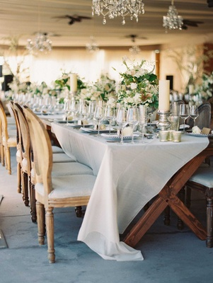 Romantic wedding decor at Westin Hilton Head Island