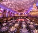 Wedding reception in Grand Ballroom at Hilton Chicago