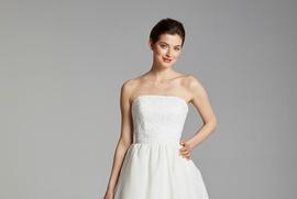 Blue Willow Bride Spring 2019 collection gazar circular skirt
